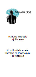 Folder Manuele Therapie bij Kinderen 2017/2018