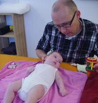 Manuele Therapie bij baby's
